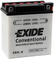 Мотоаккумулятор Exide Conventional EB5L-B (5 А/ч) -