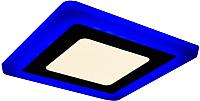 Точечный светильник Truenergy 6+3W 10252 (синий) -