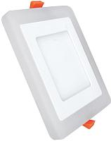Точечный светильник Truenergy 6+3W 10268 (белый) -