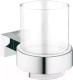 Стакан для зубной щетки и пасты GROHE Essentials Cube 40755001 -