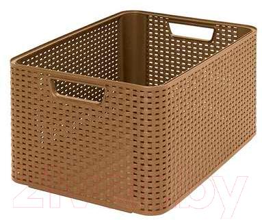 Корзина Curver Style L 03616-213-00 / 208615 (коричневый)