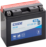Мотоаккумулятор Exide ET12B-BS (10 А/ч) -