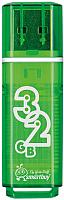 Usb flash накопитель SmartBuy Glossy Green 32Gb (SB32GBGS-G) -