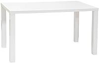 Обеденный стол Signal Montego 80x120 (белый лак) -