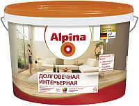 Краска Alpina Долговечная интерьерная. База 1 (5л, белый) -