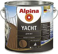 Лак яхтный Alpina Yacht (2.5л, глянцевый) -
