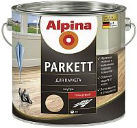 Лак Alpina Parkett (750мл, глянцевый) -