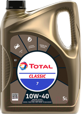 Моторное масло Total Classic 10W40 156357/213691 (5л)