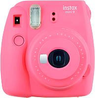 Фотоаппарат с мгновенной печатью Fujifilm Instax Mini 9 (розовый) -
