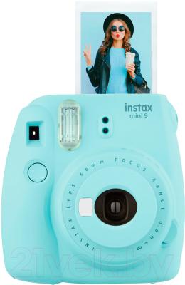 Фотоаппарат с мгновенной печатью Fujifilm Instax Mini 9 (голубой)