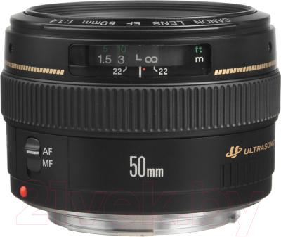 Стандартный объектив Canon EF 50mm f/1.4 USM объектив canon 10 22mm f 3 5 4 5 ef s usm canon ef s [9518a007]