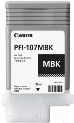 Картридж Canon PFI-107MBK (6704B001AA)