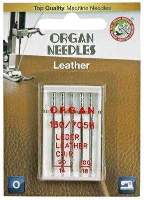 Иглы для швейной машины Organ 5/90-100 (для кожи)