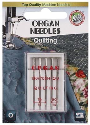 Иглы для швейной машины Organ 5/75-90 (для квилтинга)
