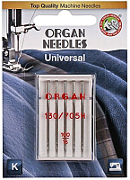 Иглы для швейной машины Organ 5/100 (универсальные) -