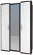 Шкаф Мебель-Неман Барселона МН-115-03-220 (белый глянец/дуб Ниагара) -