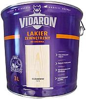 Лак Vidaron Наружный (3л, бесцветный глянец) -