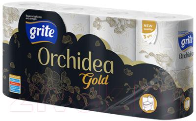 Туалетная бумага Grite New Orhidea Gold (8рул)