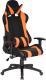 Кресло геймерское Everprof Lotus S2 PU (черный/оранжевый) -