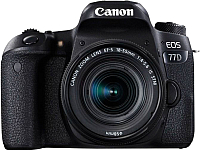 Зеркальный фотоаппарат Canon EOS 77D Kit 18-135mm IS USM (1892C024AA) -