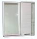 Шкаф с зеркалом для ванной СанитаМебель Прованс 101.700 R (гасиенда) -