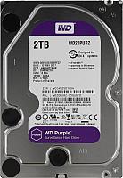 Жесткий диск Western Digital 2Tb Purple (WD20PURZ) -