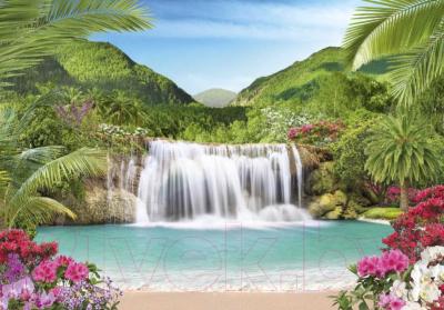 Фотообои листовые Твоя планета Люкс Райский уголок