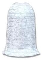 Уголок для плинтуса Ideal Комфорт 252 Ясень белый (наружный) -