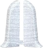 Заглушка для плинтуса Ideal Комфорт 252 Ясень белый (2шт) -