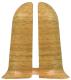 Заглушка для плинтуса Ideal Комфорт 204 Дуб имперский (2шт) -
