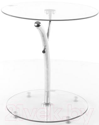Журнальный столик Signal Muna (металл/стекло)