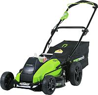 Газонокосилка электрическая Greenworks GD40LM45 DigiPro 250 (2500407) -