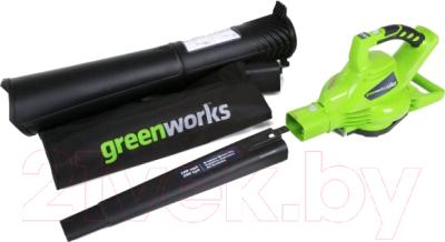 Воздуходувка Greenworks GD40BV DigiPro (24227)