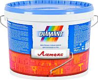 Краска Diamant Латекс (10л, белый) -