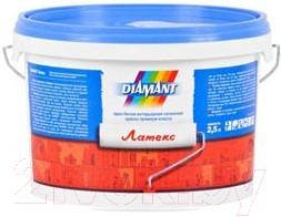 Краска Diamant Латекс акриловая (2.5л, белый)