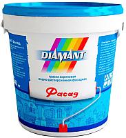Краска Diamant Фасад (900мл, белый) -