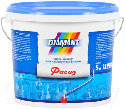 Краска Diamant Фасад (5л, белый)