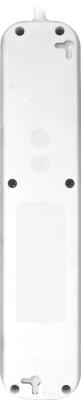 Удлинитель Defender E550 / 99231 (5м, 5 розеток, белый)