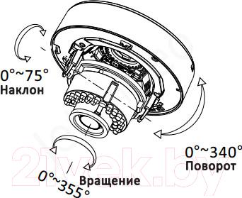Аналоговая камера HiWatch DS-T207 (2.8-12mm)