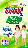 Подгузники-трусики детские Goo.N Сheerful Baby L (48шт) -