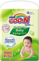 Подгузники-трусики детские Goo.N Сheerful Baby M (58шт) -