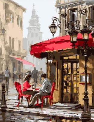 Картина по номерам Picasso Летнее кафе (PC3040067)