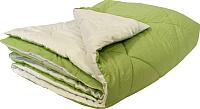 Одеяло Angellini 7с015бл (150x205, зеленый/белый) -