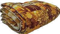 Одеяло Angellini 3с715о (150x205, город коричневый) -