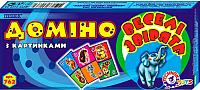 Домино ТехноК Веселые зверята 0762 -