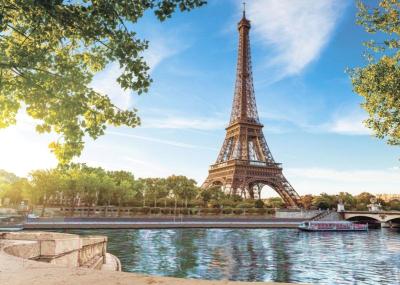Фотообои листовые Твоя планета Набережная в Париже