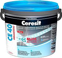 Фуга Ceresit CE 40 Aquastatic (5кг, мраморно-белый) -