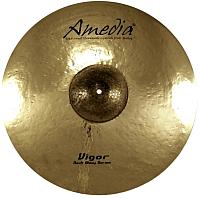 Тарелка музыкальная Amedia Vigor Rock Shiny Splash 12