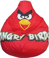 Бескаркасное кресло Flagman Груша Макси Angry Birds Г2.1-044 (красный) -
