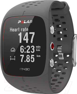 Фитнес-трекер Polar M430 (черный/серый)